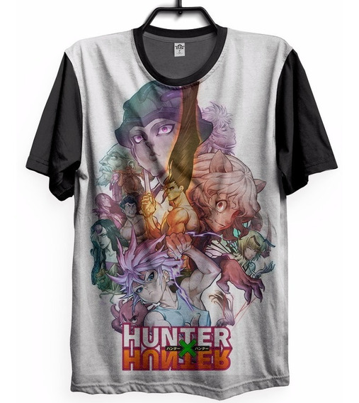 Camiseta Hunter X Hunter Anime Quimera Camisa Geek Summer 3d