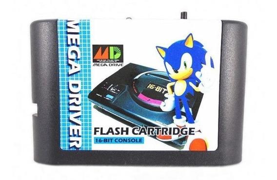 Cartucho Mega Drive - Cartão - Flash - Krizz - Everdrive Md