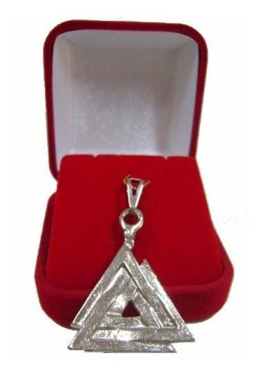 Pingente Nórdico Valknut Triângulo Asatru Odin