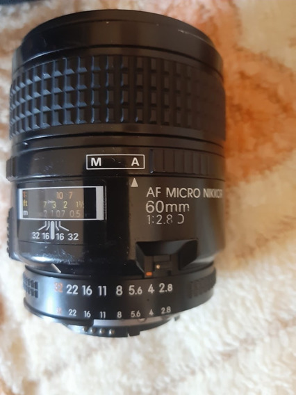 Lente Nikon Af Micro-nikkor 60mm F/2.8d