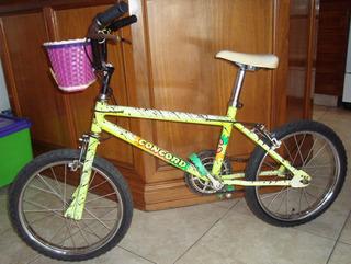 Bicicleta Para Nena Rodado 16 Muy Buen Estado Marca Concord