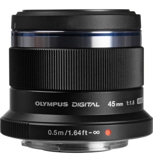 Lente Olympus M.zuiko Digital 45mm F/1.8 Lens