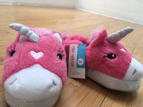 Pantuflas Unicornio Para Niña