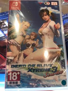 Dead Or Alive Xtreme 3 Scarlet Nuevo Juego Nintendo Switch
