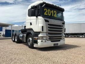 Scania R 440 A 6x4 Ano 2012