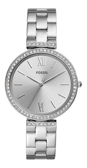 Relógio Feminino Fossil Carlie Es4539/1kn 38m Aço Prata