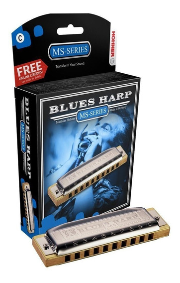 Armónica Hohner Blues Harp Ms C