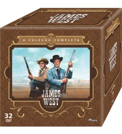 Box Dvd James West - A Série Completa! Novo E Lacrado!