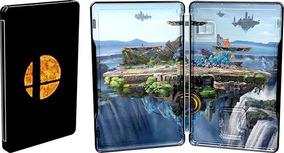 Super Smash Bros Ultimate Steelbook Switch Case Especial