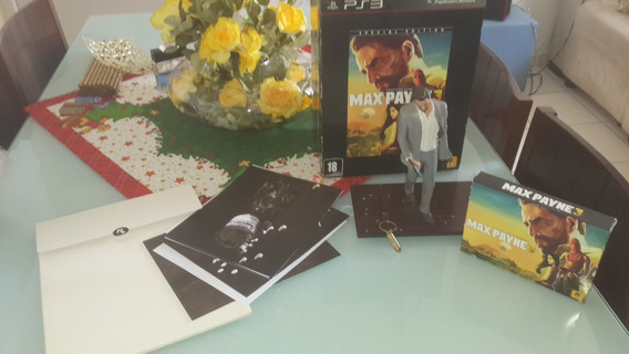 Max Payne 3 Special Edition/edicao Especial