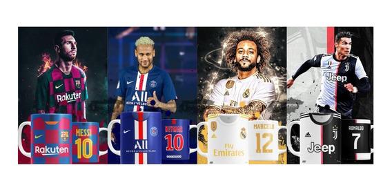 Estampas Para Canecas - Clubes Europeus 2019.2020