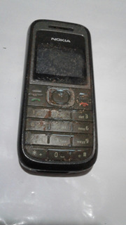 Celular Nokia 1208 Defeito