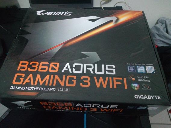 Placa Mae Gigabyte B360 Aorus Gaming 3 Wifi