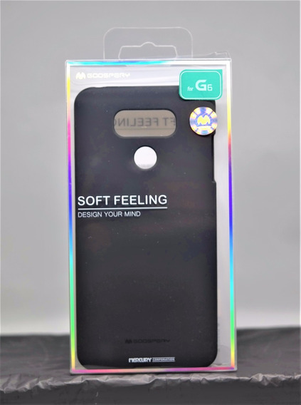 Funda LG G6 Mercury Goospery Soft Feeling Negro