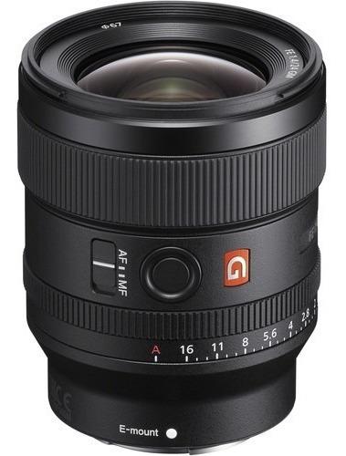 Sony Fe 24mm F/1.4 Gm Lente