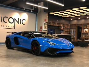 Lamborghini Aventador 6.5l Lp 750-4 Superveloce Roadster At