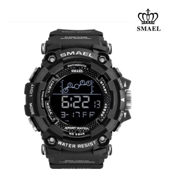 Relógio Masculino Tático Militar Digital Smael Prova D