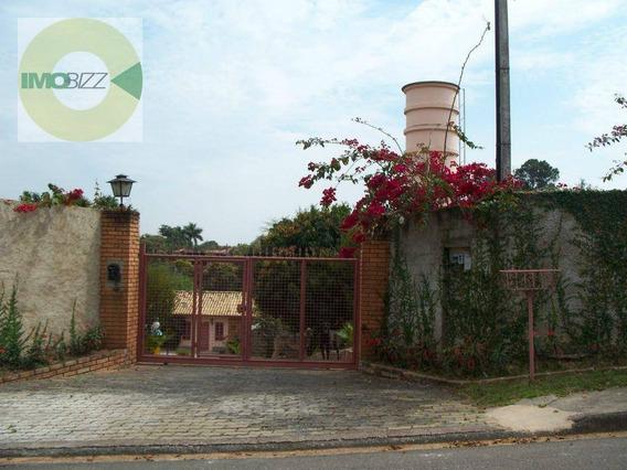 Chácara Residencial À Venda, Chácaras São Bento, Valinhos. - Ch0067