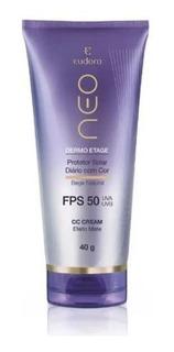 Eudora - Neo Dermo Etage - Protetor Solar Com Cor - Cc Cream