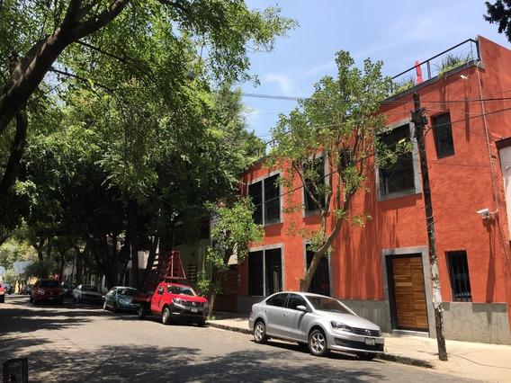 Loft Amueblado Con Areas Comunes Servicios Incluidos En El Corazon De Coyoacán
