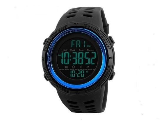 Relógio De Pulso Masculino 1251 Barato Skmei Lindo