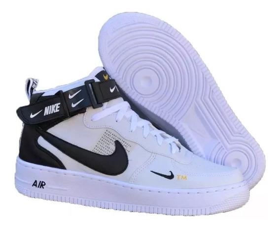 Tênis Bota Nike Air Force Tm Masc/feminino Frete Grátis [z
