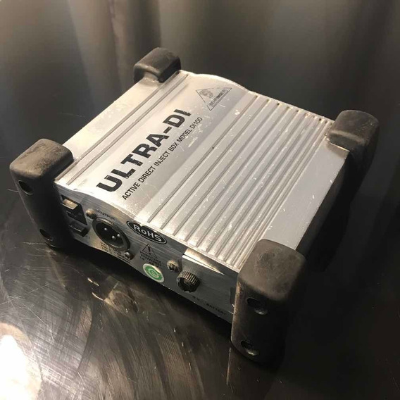 Direct Box Ativo Profissional Ultra Di100 Behringer