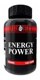 Energy Power Profit 500mg 120 Cápsulas