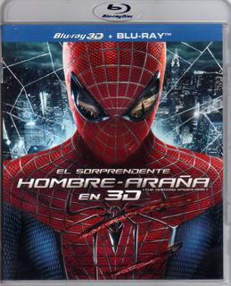 El Sorprendente Hombre Araña 3d / Marvel 2 Bluray Originales