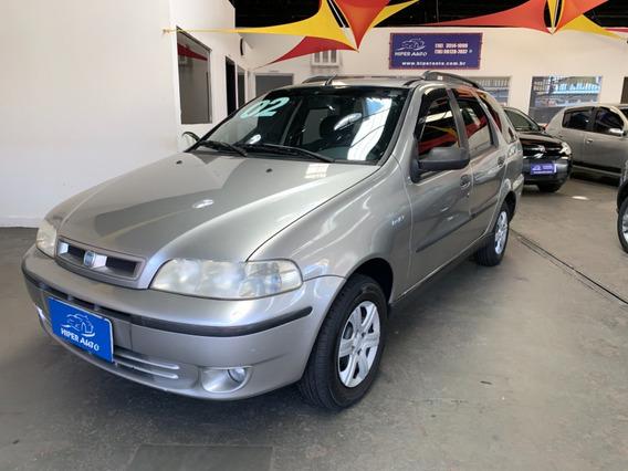 Fiat Palio Weekend Elx 1.0 Prata 2002