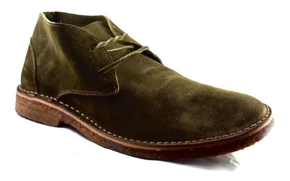 Bota De Gamuza Suela Crepe Mc Shoes