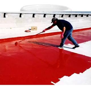 Membrana 20 Kg Techo Pared Liquida Pasta Pintura Elastica Antihongos Rapido Secado Sin Olor Premium Rojo Verde Blanco