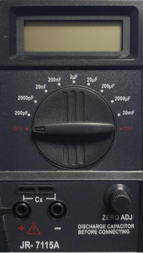 Capacimetro Digital Capacitores Escalas 200pf A 20mf Cm9601a Marca Jr Excelente Producto Profesional Refrigeracion