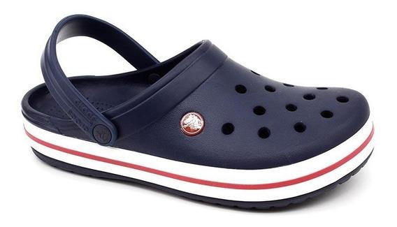 Clog Crocs Crocband Marinho