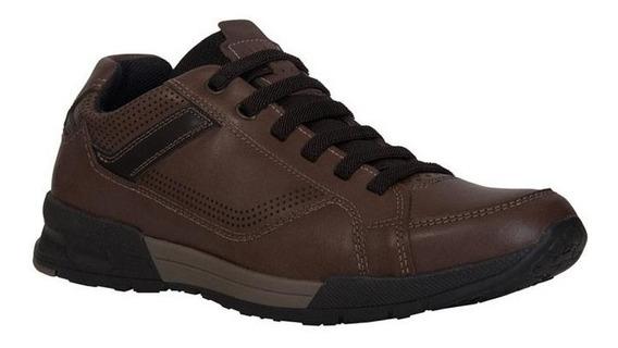 Zapatos Casuales Para Hombre Cafe 24 Walks / 116707-06
