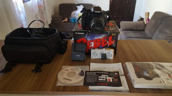 Camera Canon T5i + Bolsa+ 3 Bat+cartão 32gb+ 18-55mm+caixa