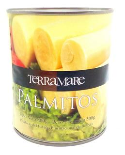 Palmitos Enteros X 800 Gr Terramare Mejor Calidad