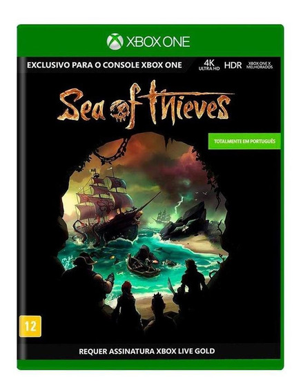 Sea Of Thieves Xbox One Mídia Física Novo Lacrado