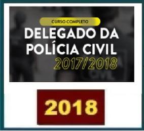 Delegado Da Policia Civil - 2018