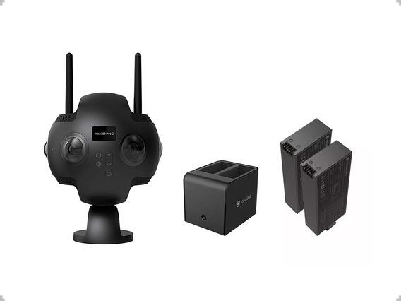 Cámara Insta360 Pro 2 8k 3d + Estación De Carga + Batería