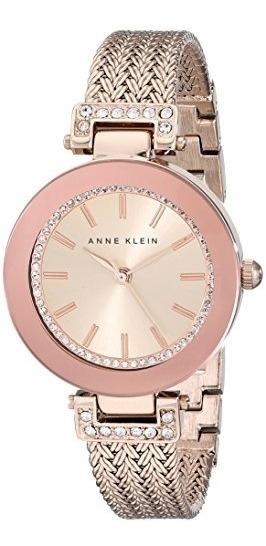 Anne Klein - Reloj De Pulsera Para Mujer Con Cristales De S