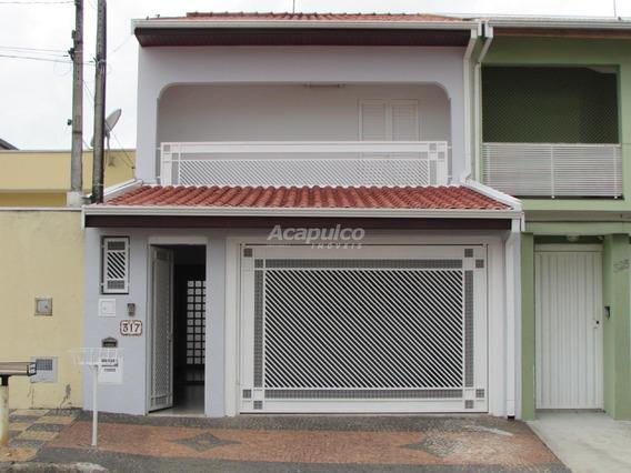 Casa À Venda, 3 Quartos, 2 Vagas, Campo Limpo - Americana/sp - 11035