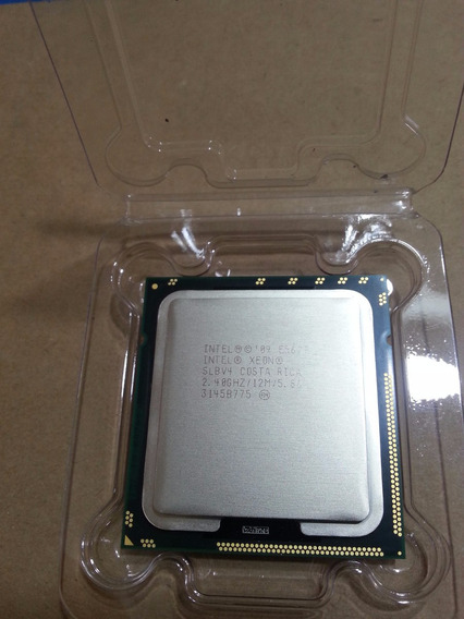 Intel Xeon E5620 2.40ghz Z800 Dl380 G7 T410 R710 T7500