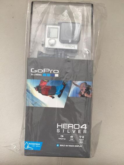 Gopro Hero4 Silver Edition Nacional Nota Fiscal E Garantia