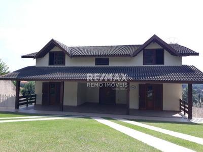 Casa 5 Suítes Para Locação No Condominio Vista Alegre Sede,vinhedo - Ca6246