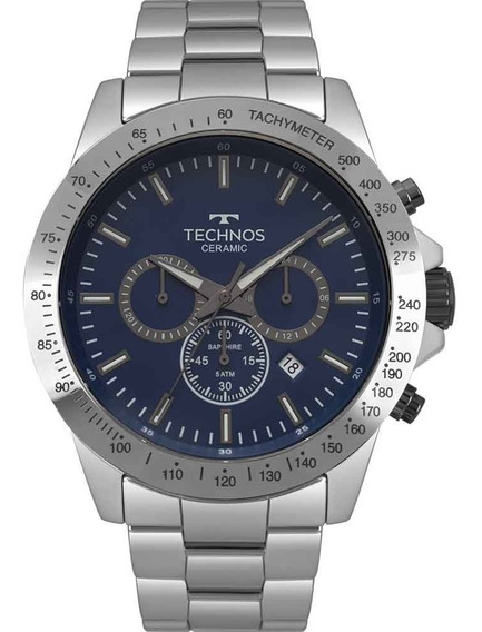 Relógio Technos Masculino Elegance Ceramic Js25bt/4a