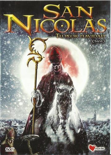 San Nicolás Tu Peor Navidad Dvd Película Nuevo