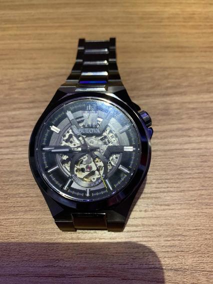 Relógio Bulova Automático 98a179 Aceito Troca Original