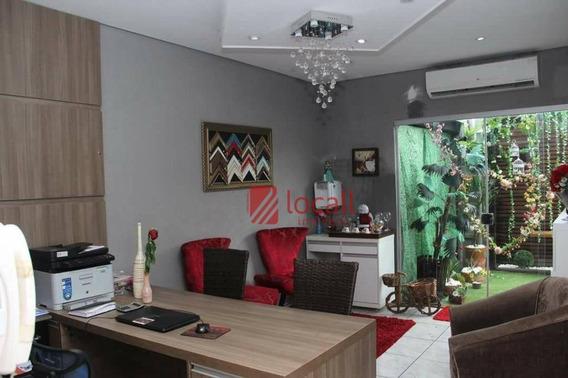 Casa Residencial À Venda, Jardim Astúrias, São José Do Rio Preto. - Ca1508