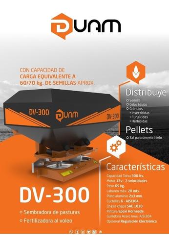 Sembradoras Y Fertilizadora Duam Dv 300 12 Volts